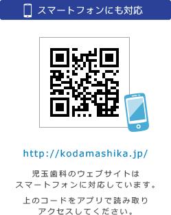 スマートフォンアクセス用QRコード